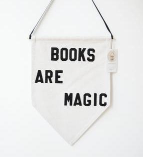 Books Are Magic Pendant