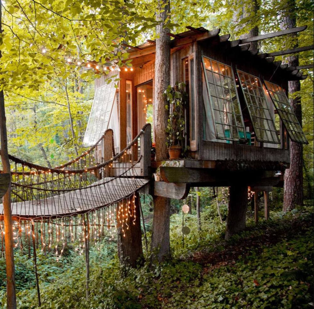 Airbnb Treehouse, Airbnb
