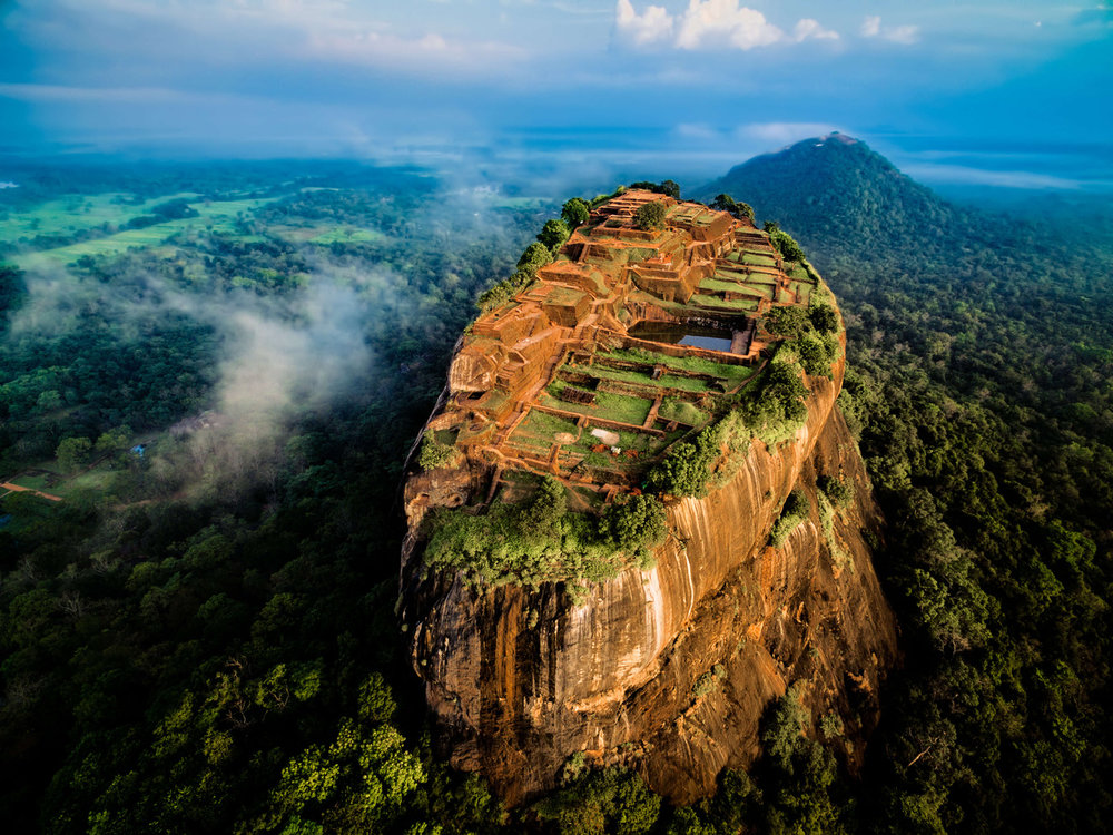 Hike Sigiriya's Lion Rock  -