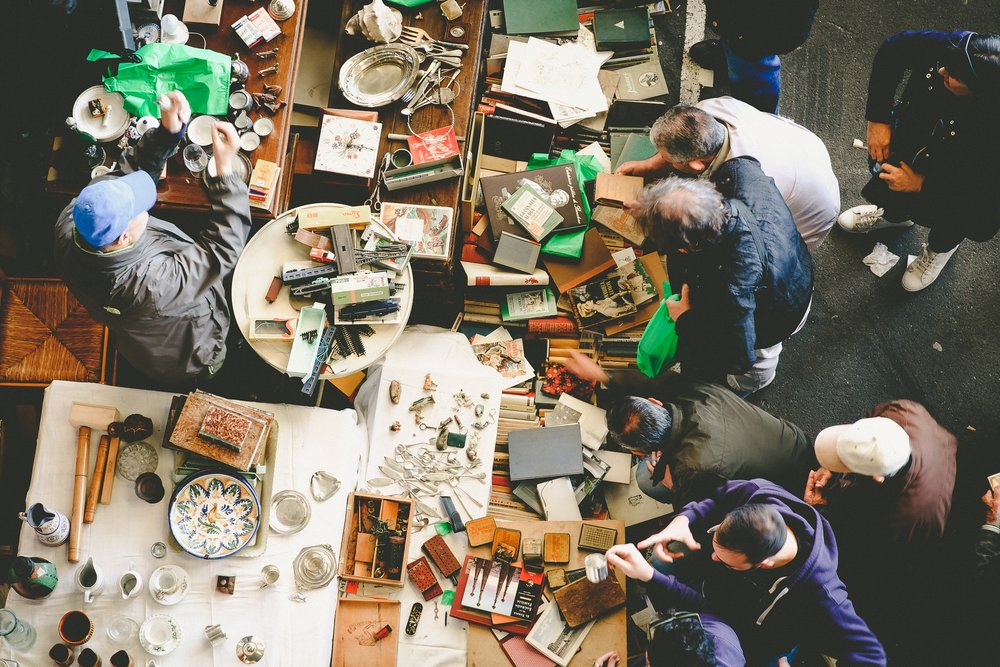 Spend a few hours at Esceri Flea Market -