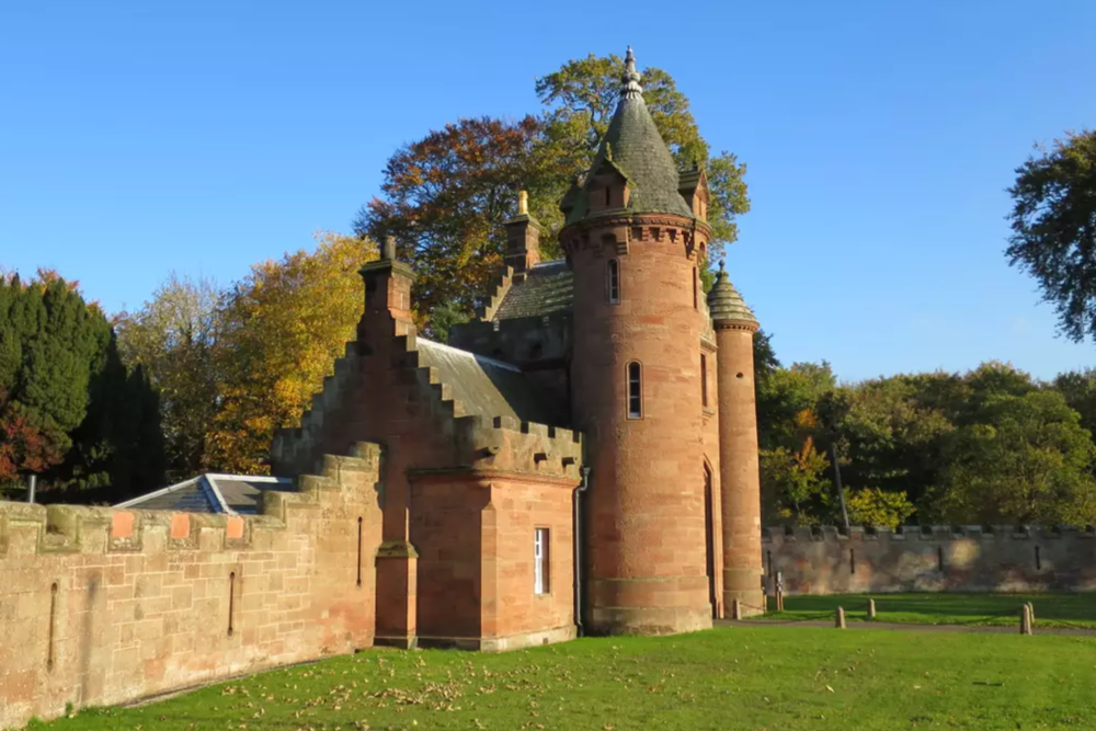 Stay in the gatehouse of a castle for $145 per night -