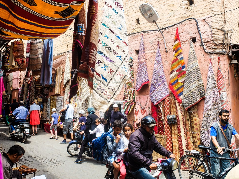 5. Morocco - Morocco is a gateway to Africa, and a country of eclectic diversity. In this unexpected place, you'll find epic mountain ranges, ancient cities, sweeping deserts, and kind, genuine hospitality.