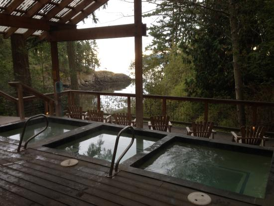 Get naked at Doe Bay Soaking Tubs -