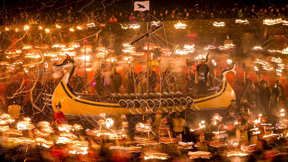 Get hot at the Viking Fire Festival -