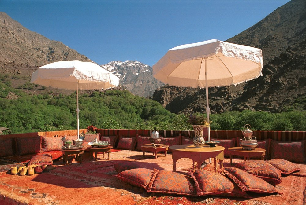 Escape to the mountains at Kasbah du Toubkal -