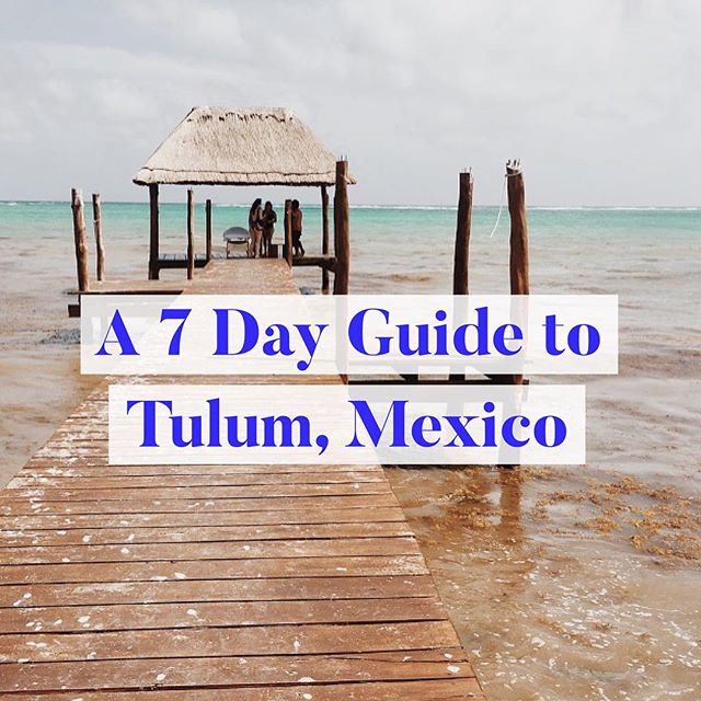 ✨ NEW CITY GUIDE ✨ Tulum, Mexico is one of the most captivating places I've ever been to. - The people, the culture, the food - are all just the beginning of this never ending discovery. - Head to the link in our profile for all your taco, mezcal, beach hut, and 'how do I even get there?!' needs • • • • •  #liveauthentic #exploreeverything #wanderfolk #keepexploring #exploreeverywhere #visualwanderlust #freedomthinkers #travelphotography #travellife #travelbuddies #mytinyatlas #welltravelled #goplayoutside #wonderful_places #travelawesome #openmyworld #bestvacations #ilovetravel #tulum #mexico #beach #cityguide