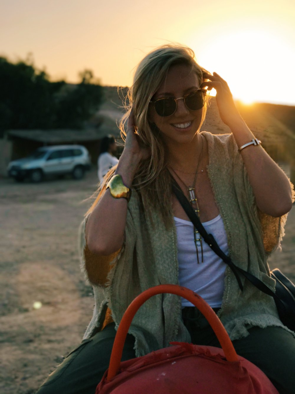 ADVENTURES IN THE AGAFAY |  A SUNSET CAMEL CRUISE IN THE AGAFAY DESERT FOLLOWED BY MINT TEA, DINNER, BELLYDANCING (WITH A CAMEO BY YOURS TRULY), MOROCCAN ROSÉ, MORE MINT TEA AND SHISHA