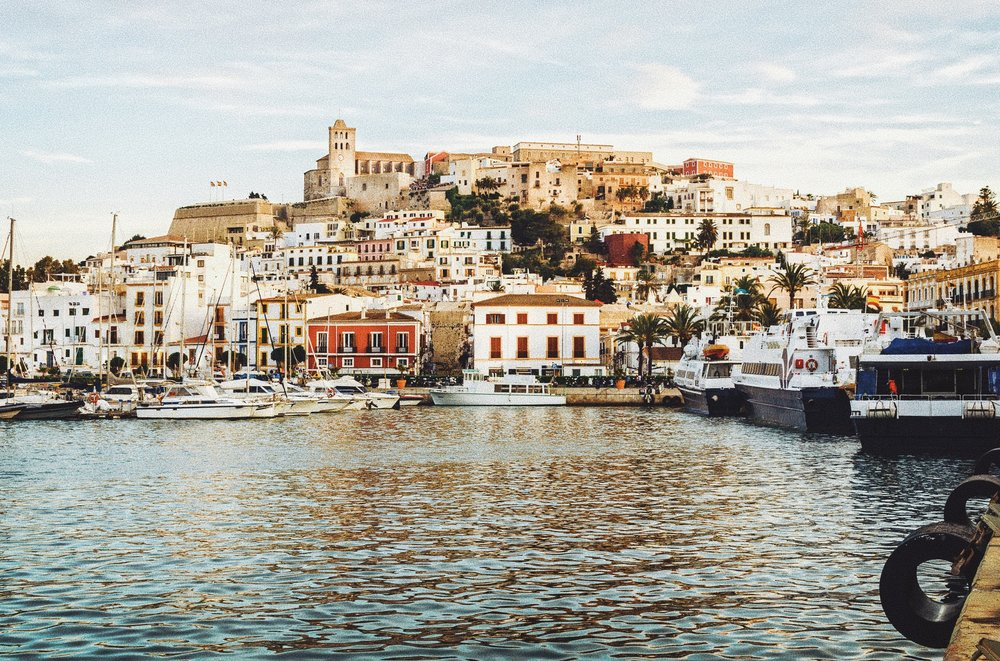 Old Town Ibiza |  Follow the winding, cobblestone streets through this 2500 year old city and you'll find hidden art galleries, restaurants and shops
