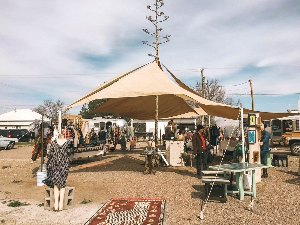 flea market featuring treasures from west texas and beyond