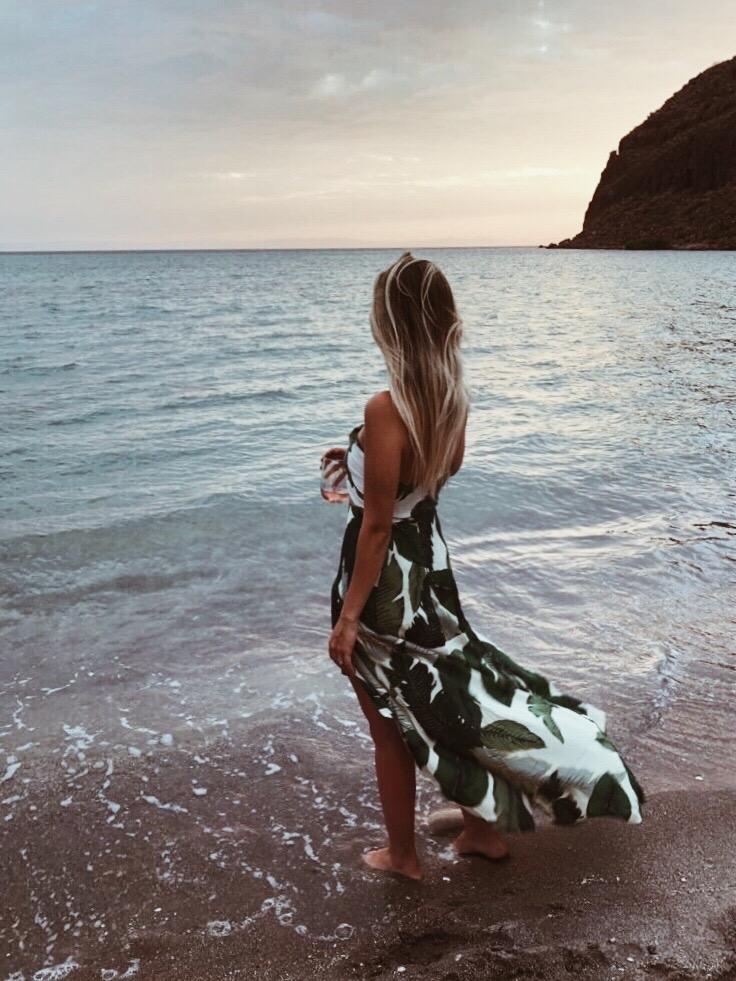 ISLAND APPROPRIATE | Skirt:  Beach Riot , Top:  Beach Riot