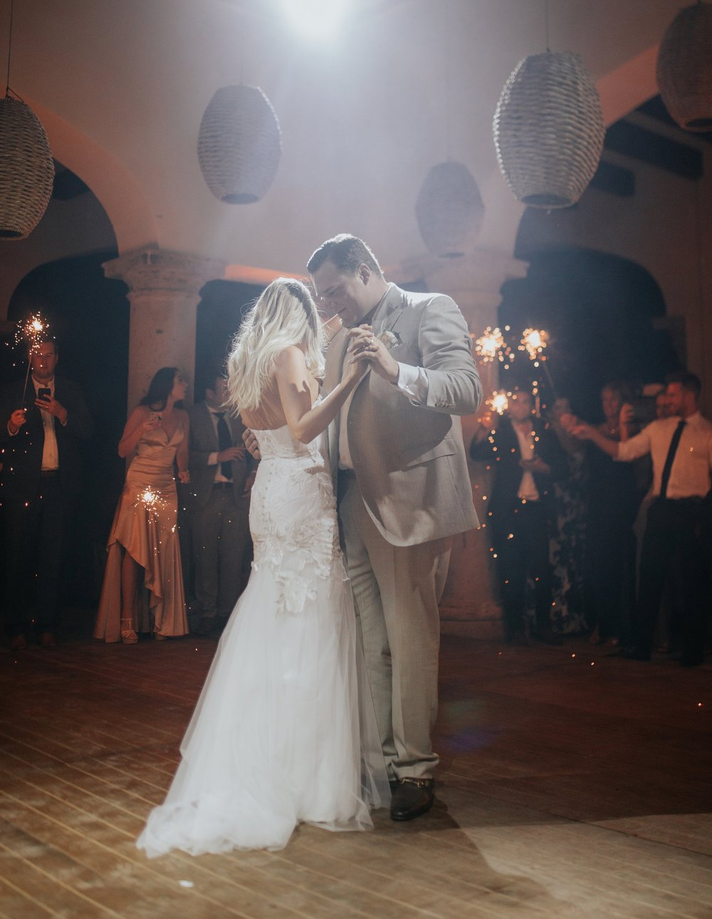 "Our first dance was to John Legend's ""All of Me"" (or is it ""All of You"")? You know what I mean…"