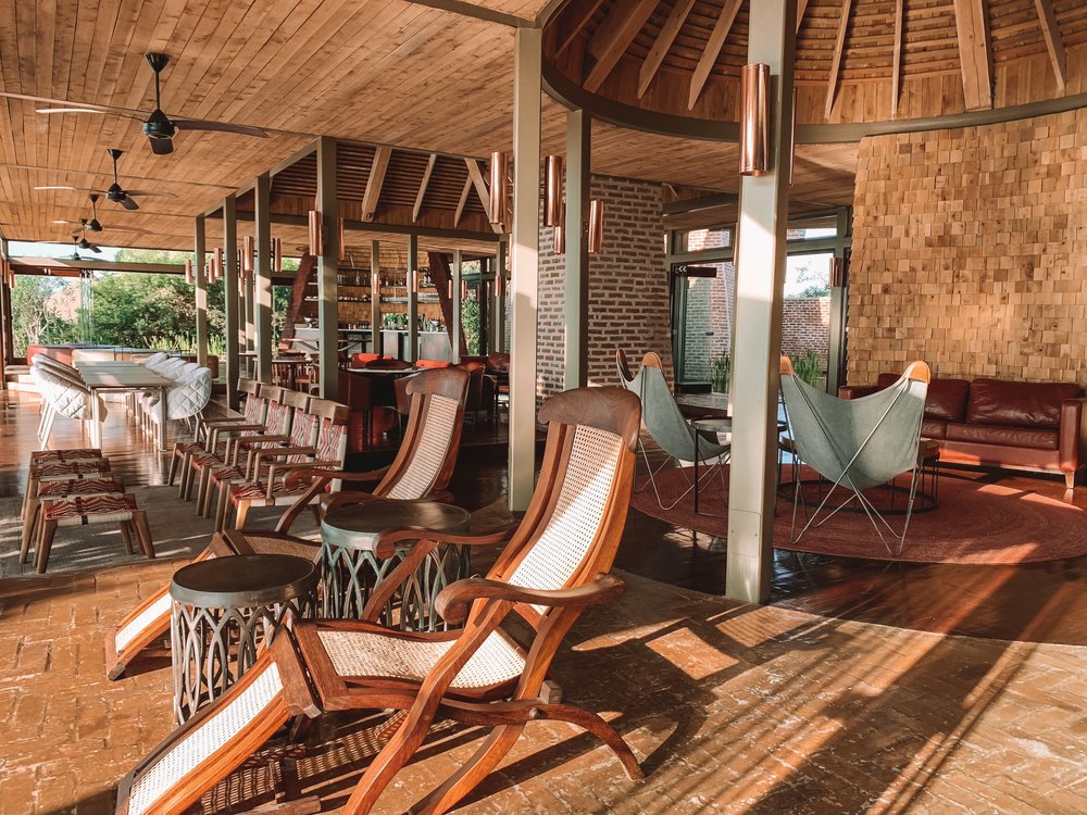 Fun fact: Angama Mara is located on the former site of the Olkurruk Mara Lodge, which was built for the crew and stars of Sydney Pollack's 1985 movie,  Out of Africa . The original lodge burned down and the site remained vacant for 30 years, until Angama Mara opened it's doors in 2015.