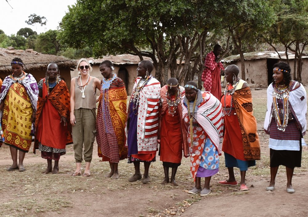 Visit to a Maasai village