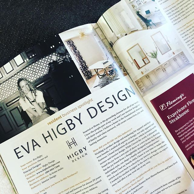 Came home from High Point spring market to find this 👏🏻 Thank you @lifeatmcdowellmountain for the resident business spotlight! Grateful to be part of this awesome community! . #wholeheartedathome #wholeheartdesign #interiordesign #designblogger #interiordesigner #homedecor