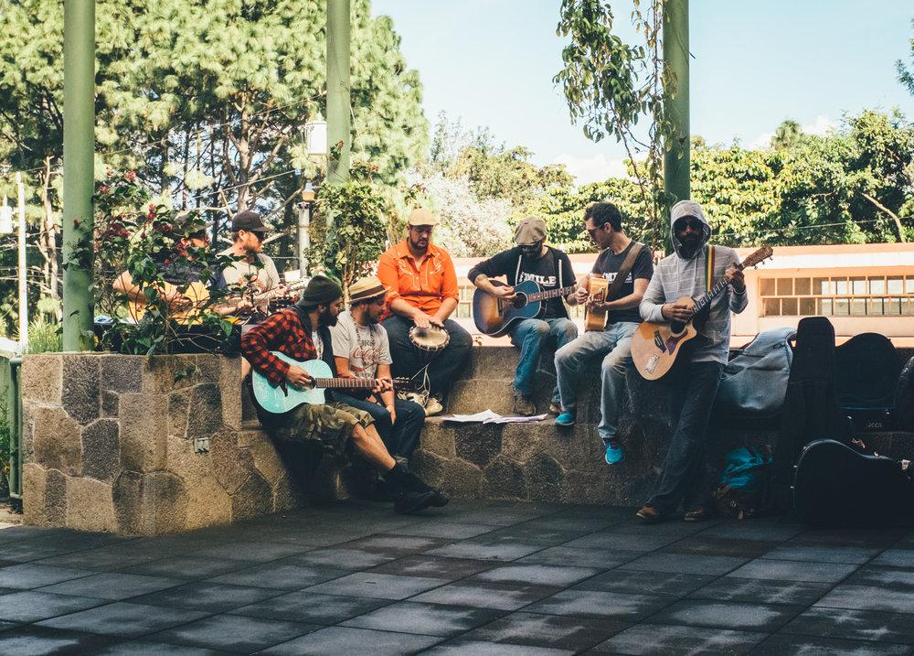 Show at Hospitalito Atitlán