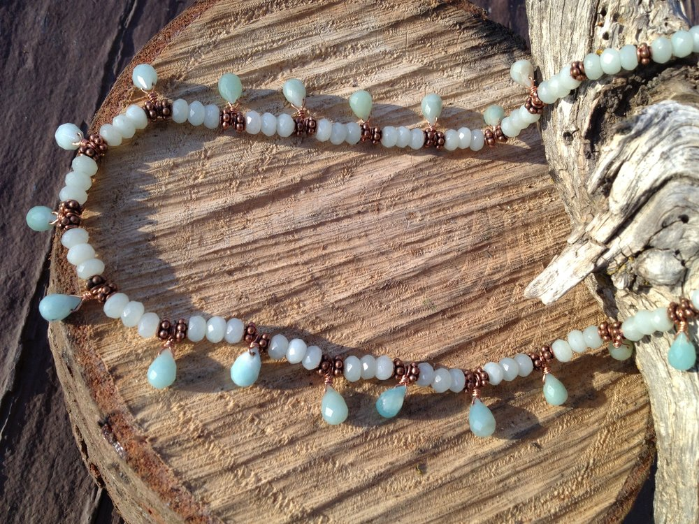 Amazonite Necklace - Prapoah