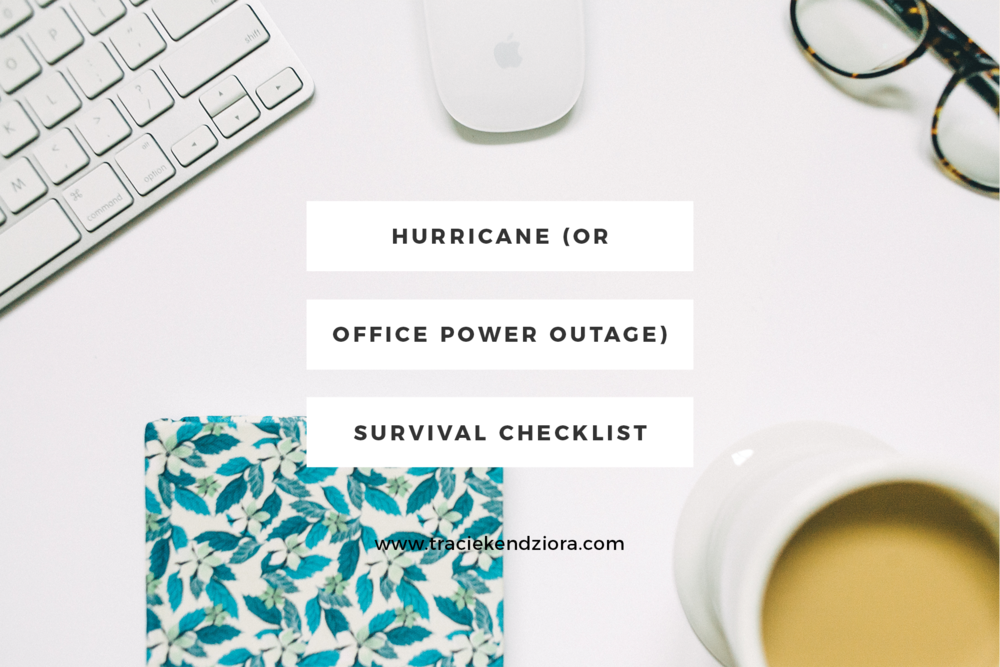 hurricane-or-office-power-outage-survival-checklist
