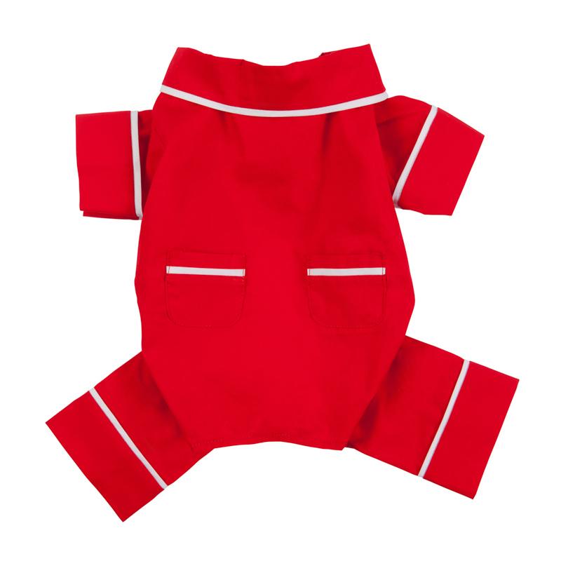 Red Poplin PJ; $25