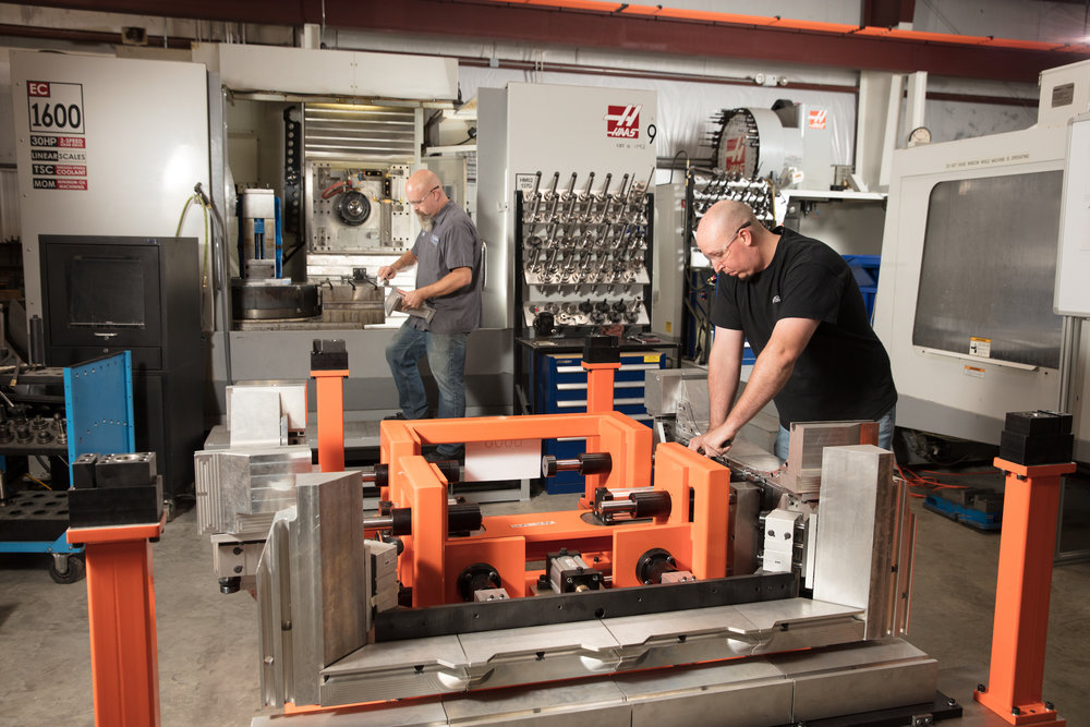 Turn-Key Service - Engineering and machining through to production builds and quality verification.