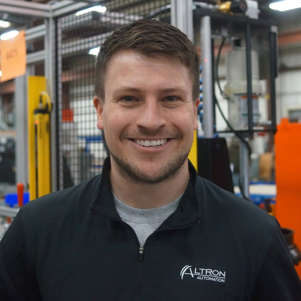 Tyler LaCombe - Director of Materials Management   Tyler has 9 years of experience in both high volume and design & build manufacturing, including 6 years at Altron Automation & its subsidiary companies. He has held a wide array of responsibilities in many different business disciplines including leadership positions in Sales, Manufacturing, Systems Engineering, and, most recently, Materials Management. Tyler holds a B.A. of Sports Management from the University of Michigan.
