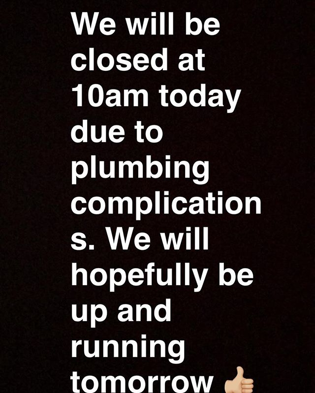 Sorry for the inconvenience! We will be back soon 👌🏽👍🏼