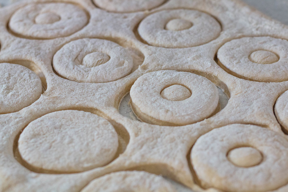 Patrick's Parsnip doughnut dough