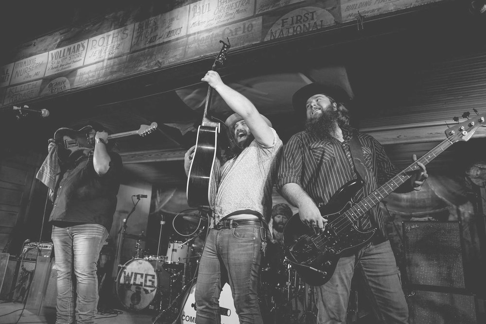 NOVEMBER 17, 2017 - We had a great time playing our debut at historic Gruene Hall with our buddies in William Clark Green! Thanks to all that joined us for this special night, and hopefully the first of more to come! We love ya!
