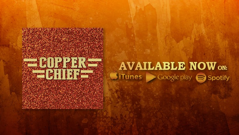 "We are happy to announce as of today, 12/1/17, ""Copper Chief"" is now released publicly!  Thanks so much for the continued support and believing in this dream, the music, and us. We love y'all!  DOWNLOAD or LISTEN at these links!  ITUNES:   https://itunes.apple.com/us/album/copper-chief/1315915668    GOOGLE PLAY:   https://play.google.com/store/music/album/Copper_Chief_Copper_Chief?id=Bnzb2qtuguzi5mcez4vxq4qrle4&hl=en    SPOTIFY:   https://open.spotify.com/album/7oc511op47QaLKVoQd7XNr"