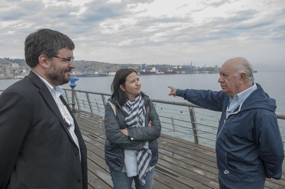 En diálogo #EnTerreno con el arquitecto Alberto Teixido y la restauradora, Macarena Carroza