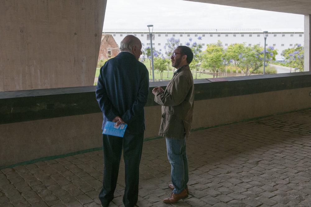 Recorriendo el Centro Cultural Valparaíso, Ex Cárcel, con Juan Carlos García