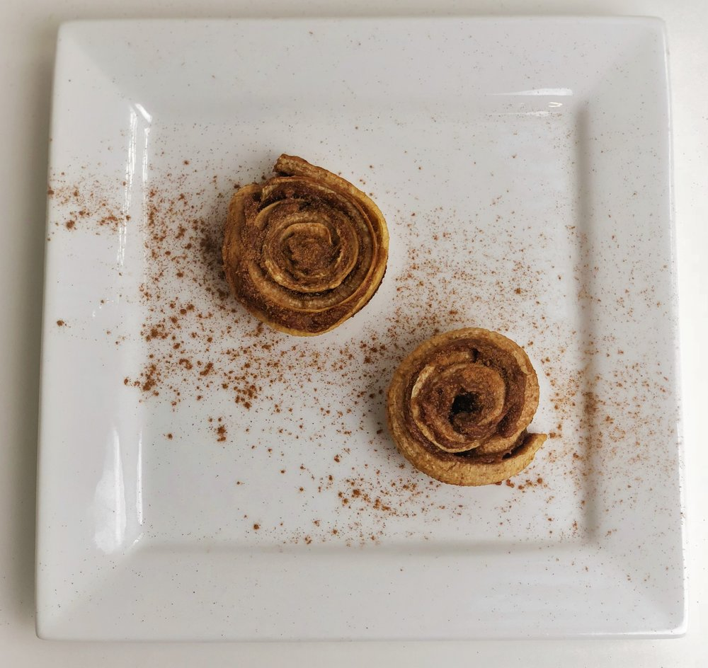 Healthy Vegan Cinnamon Roll