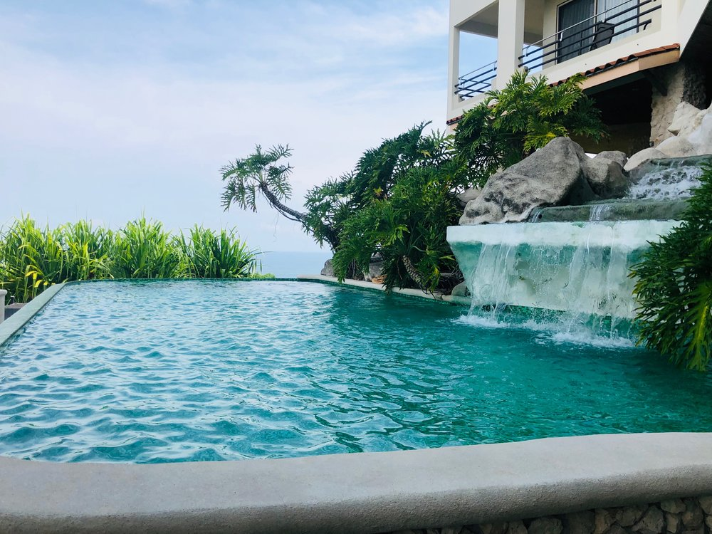 Pool with a view~ Costa Rica Blog