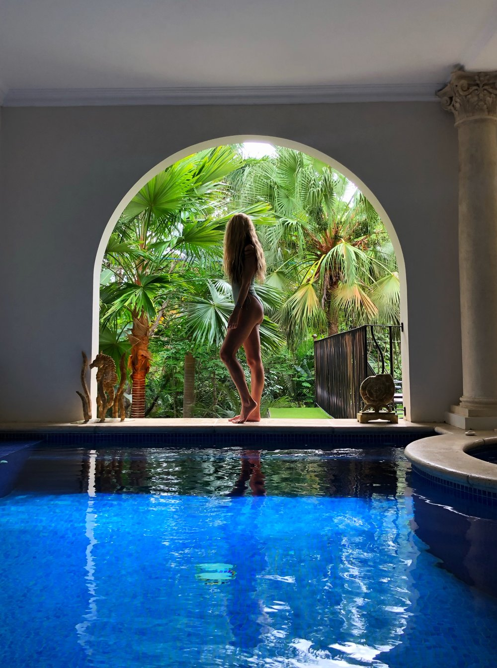 Parador Resort Costa Rica Infinity pool @yoga_ky