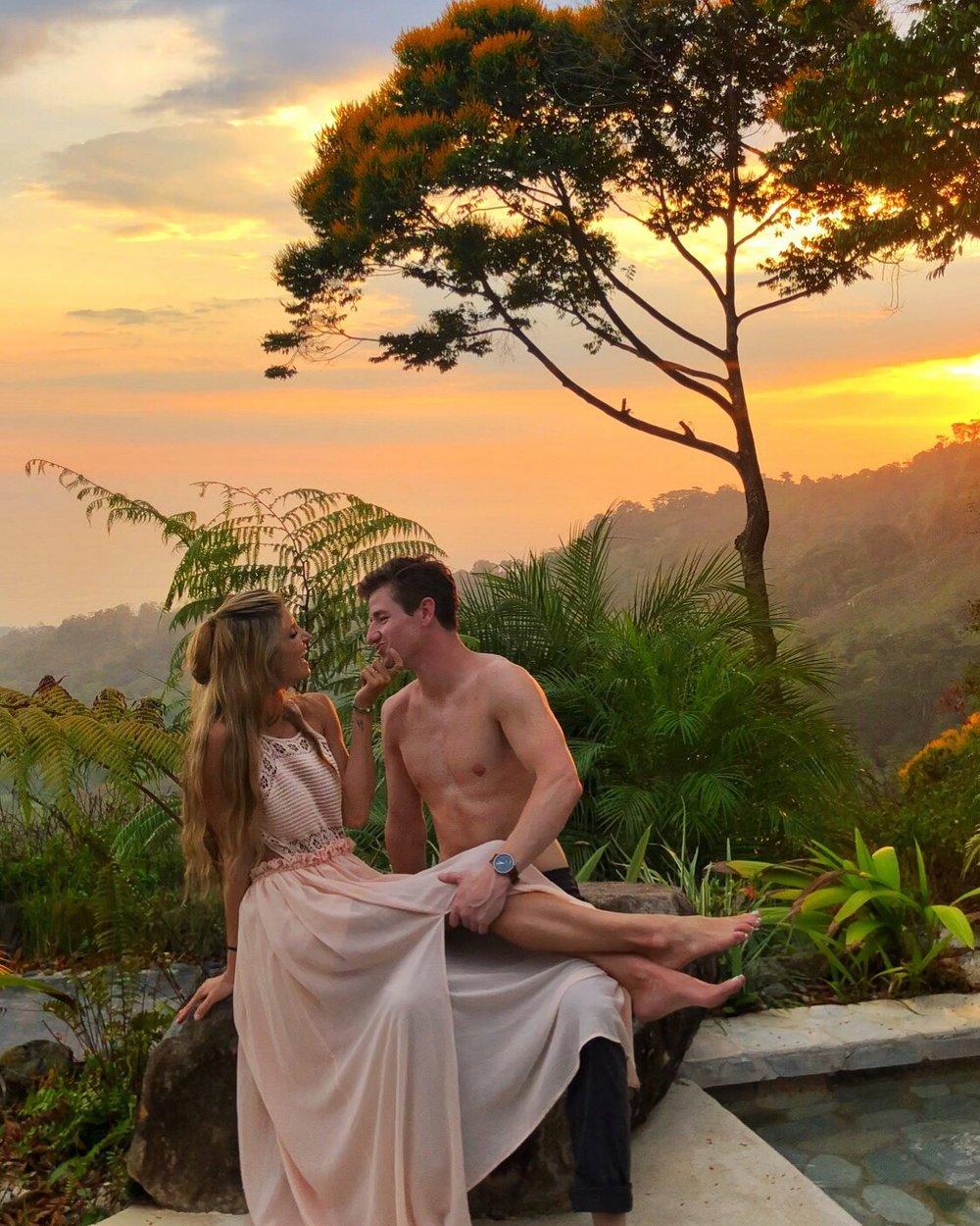 Couple goals~ Costa Rica: Vista Celestial