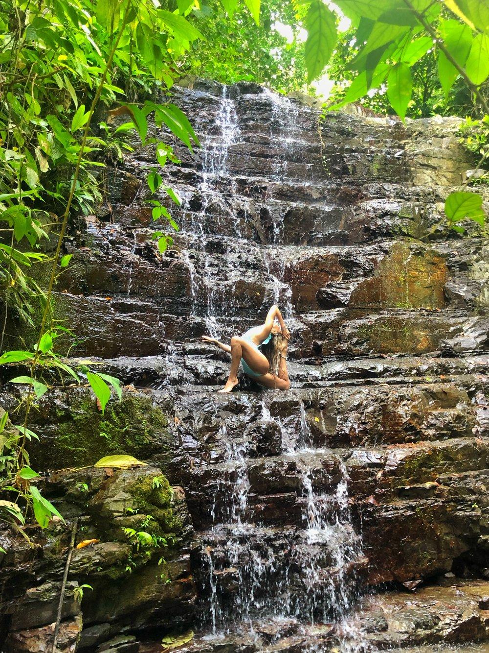 Waterfall  Costa Rica: Vista Celestial
