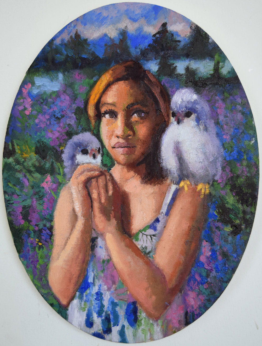Young Inanna with the Owls