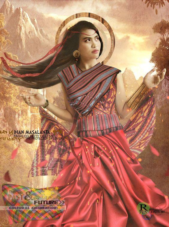 Diyan Masalanta, Tagalog Goddess of Love + New Moon in Libra — Hella