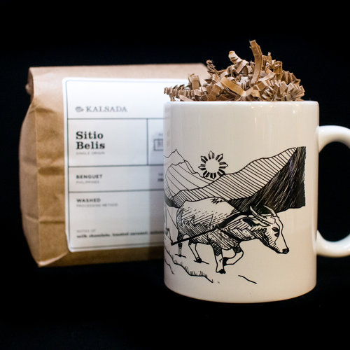 Kalabaw Mug & Kalsada Coffee Gift Set ($29) by Hood Famous Bakeshop
