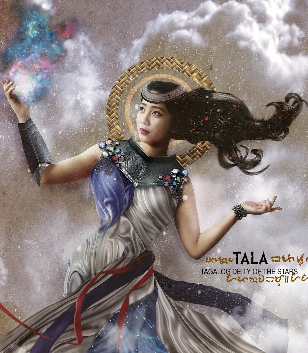 Tala, Tagalog Goddess of Stars + Lunar Eclipse in Leo