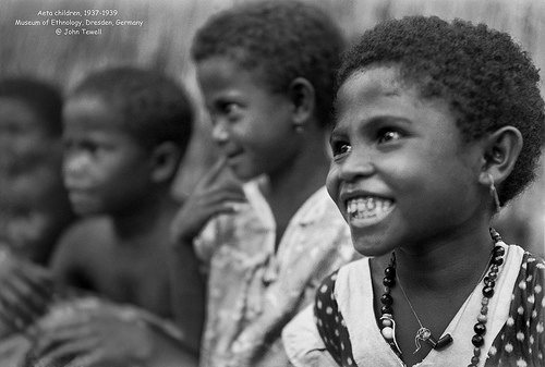 Aeta Children, 1937-1939 / Photo by John Tewell, Museum of Ethnology, Dresden, Germany