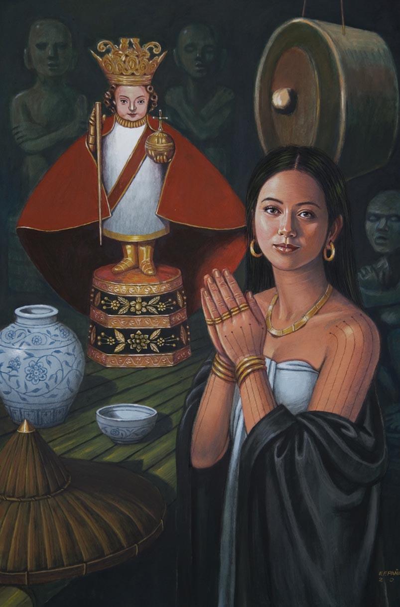Queen Juana 2 by Manuel Panares