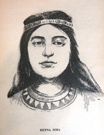 Illustration of Queen Sima of Cotabato