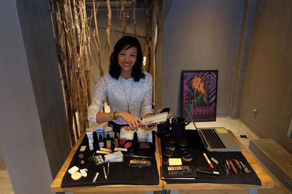 Leslie at KAPWA Studio / Photo by Dan Bradbury