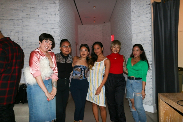 Some of the Hella Pinay crew (from left to right): Stephanie Gancayco, AC Dumlao, Elyssa Marie Rivera, Lovelisa Dizon, King Marie, TNYFox