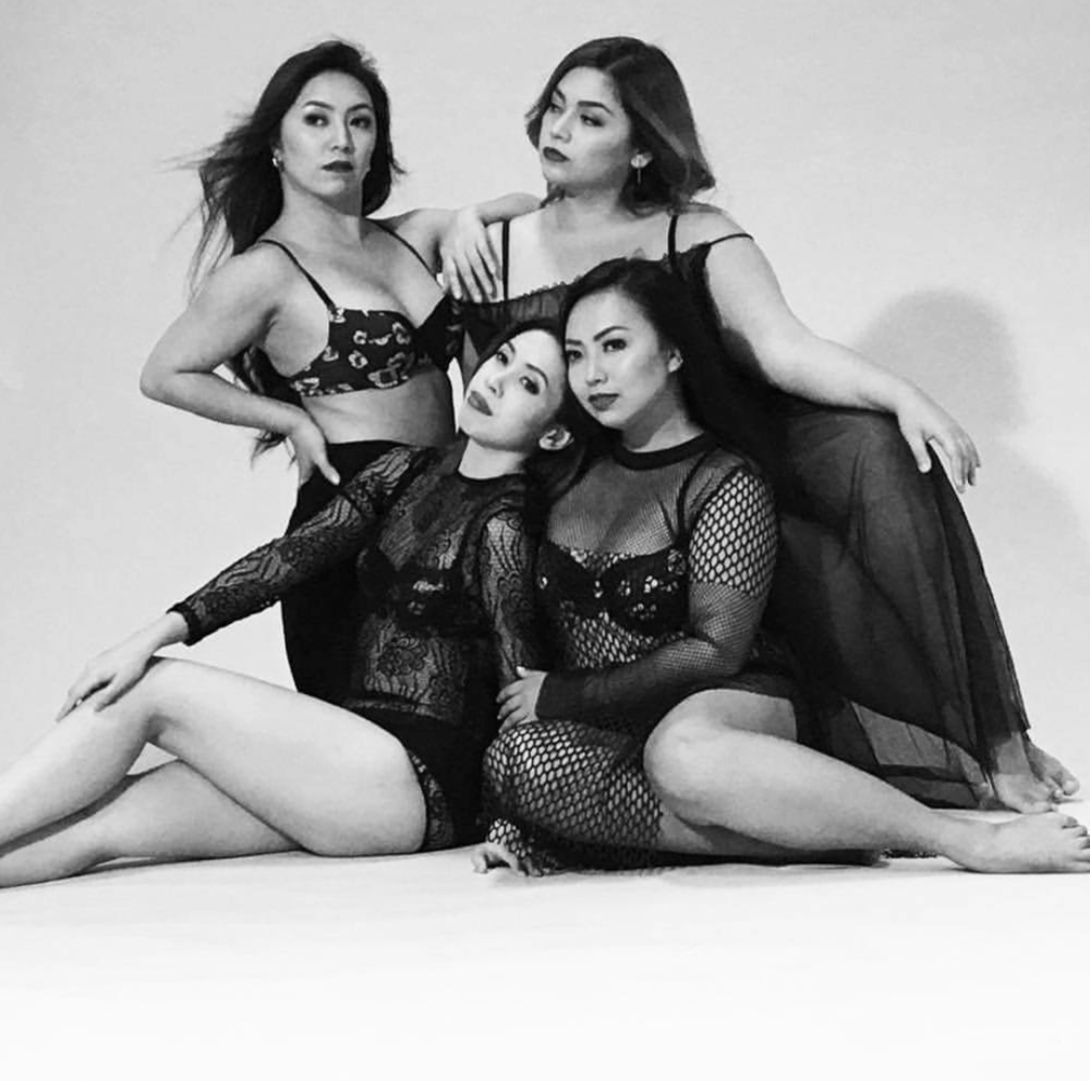 "Kakki BTS for AVON Fashion's ""Confidence is the New Sexy"" intimates campaign"