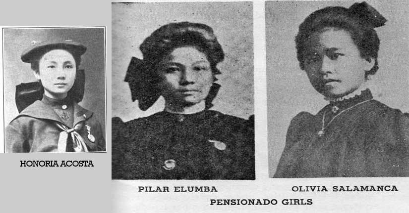 Photos from pages 6-7 of the March 1906 issue of The Filipino,a pensionado journal. Source: Jennifer Hallock