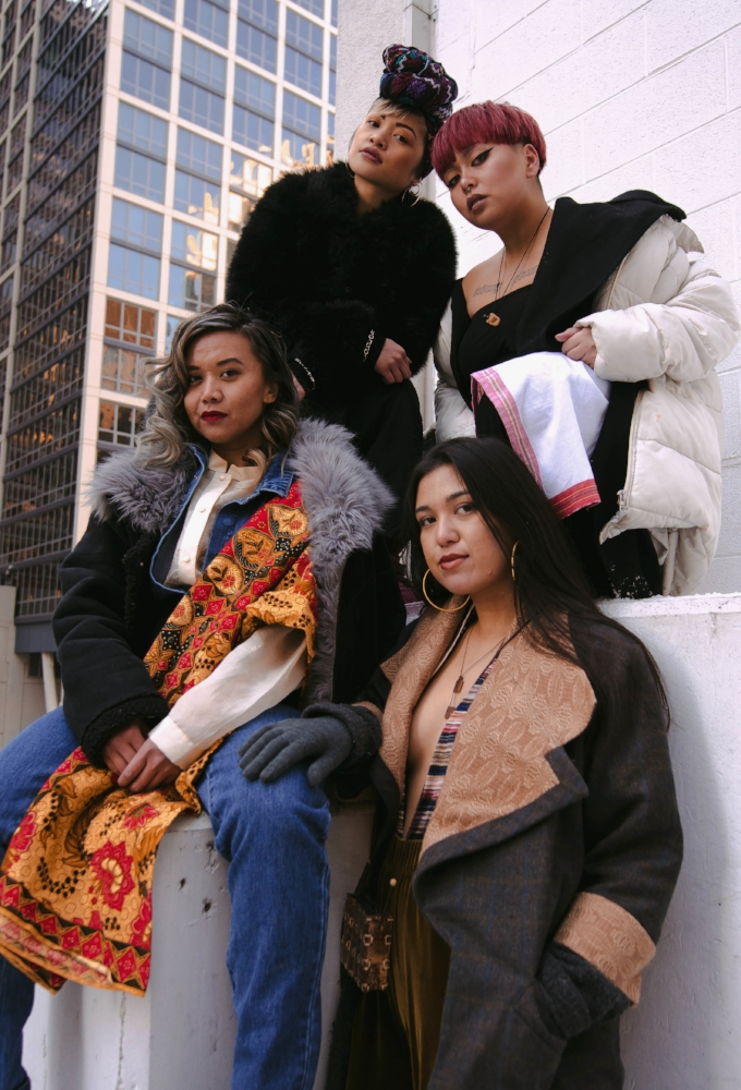 acclimate not assimilate chicago winter filipina streetwear hella
