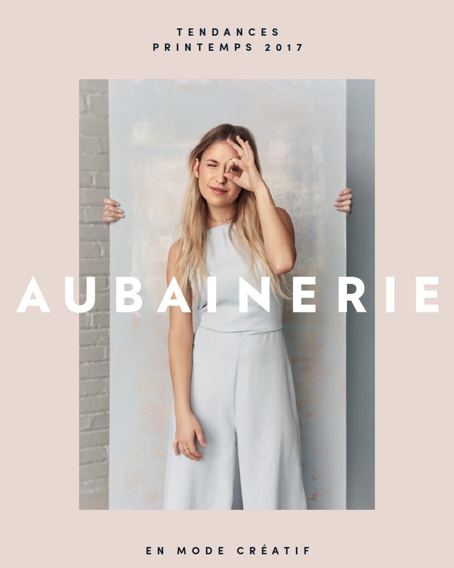 Aubainerie / circulaire printemps 2017