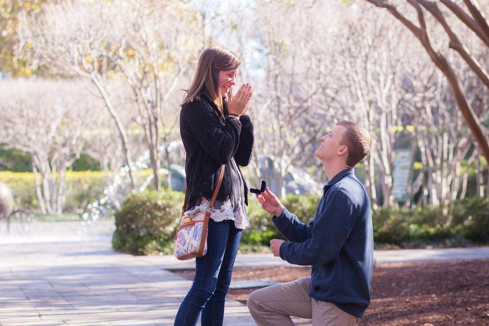 Joseph & Sarah Proposal Shot