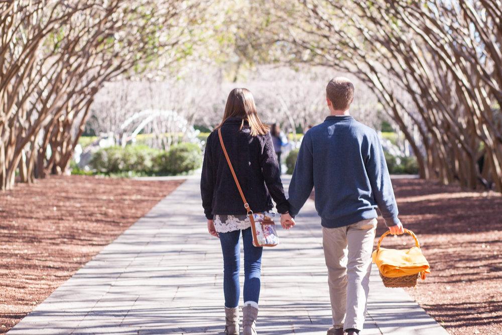 Walking Through Dallas Arboretum Tree Canopy